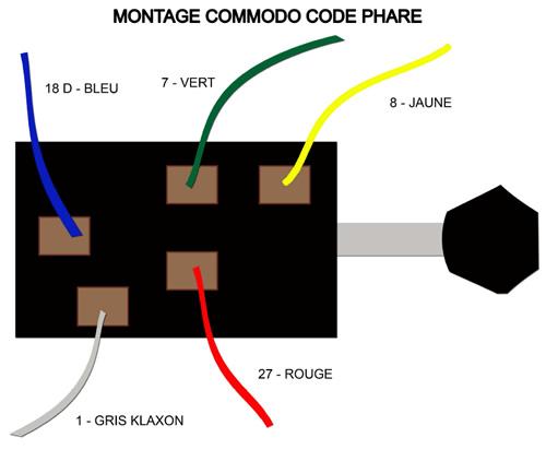 montage commodo code phare mcda m hari c te d 39 azur. Black Bedroom Furniture Sets. Home Design Ideas