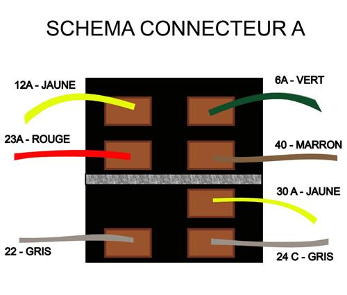 schema connecteur a ref 761 mcda m hari c te d 39 azur. Black Bedroom Furniture Sets. Home Design Ideas